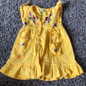 Other - Yellow toddler dress